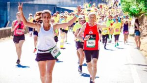 10 – Get Active – Health Benefits Running Daily