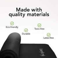 HemingWeigh 1 inch Thick Yoga Mat – Eco-Friendly