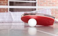 Table Tennis Racket and Ball – January 2021